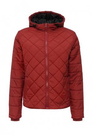 Куртка утепленная Blend. Цвет: красный