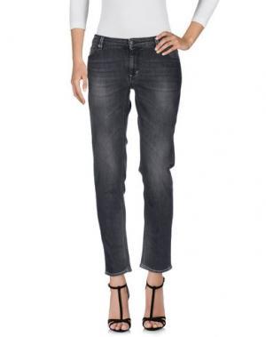 Джинсовые брюки DW⁵. Цвет: серый