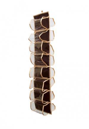 Система хранения подвесная Homsu. Цвет: коричневый