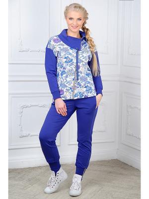 Домашний костюм Mia Cara. Цвет: фиолетовый, темно-синий