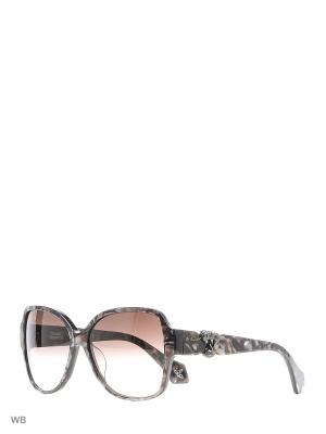 Солнцезащитные очки VW 909S 02 Vivienne Westwood. Цвет: коричневый