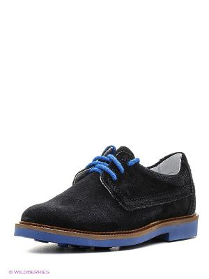 Ботинки Bartek. Цвет: черный, синий