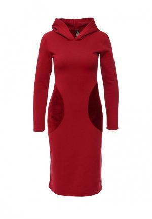 Платье Love & Light. Цвет: красный