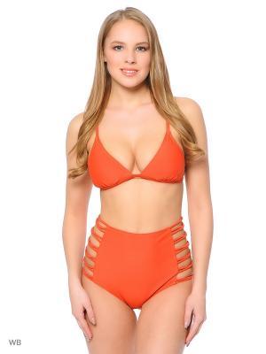 Плавки Funky Fish. Цвет: оранжевый