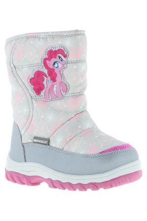 Сапожки My Little Pony. Цвет: серый