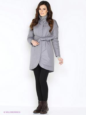 Пальто Анна Чапман. Цвет: серый