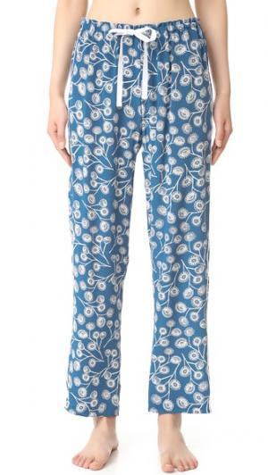 Allison Пижамные брюки Alessandra Mackenzie. Цвет: синий/белый одуванчик