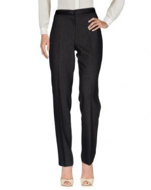 Повседневные брюки PAZ TORRAS. Цвет: стальной серый