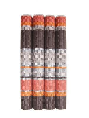 Плейсмат, 4 шт DiMi. Цвет: коричневый,оранжевый