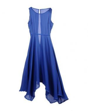 Платье длиной 3/4 CUTIE. Цвет: синий