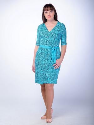 Платье Begood. Цвет: бирюзовый