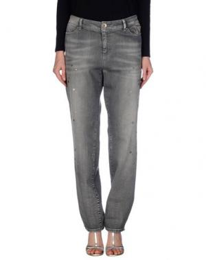 Джинсовые брюки MARC CAIN. Цвет: серый