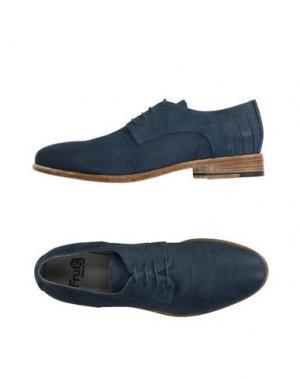 Обувь на шнурках FRU.IT. Цвет: грифельно-синий