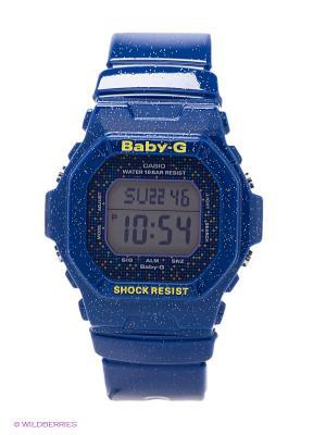 Часы Baby-G CASIO. Цвет: синий