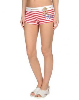 Пляжные брюки и шорты FRANKIE MORELLO SEXYWEAR. Цвет: красный