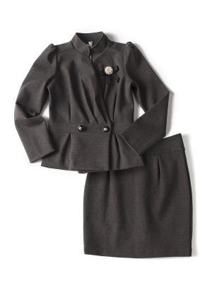 Комплект одежды I love to dream. Цвет: темно-серый