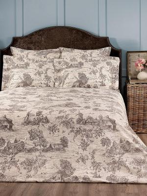 Комплект постельного белья TOGAS. Цвет: бежевый, коричневый