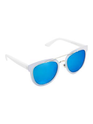 Солнцезащитные очки Kameo-bis. Цвет: голубой, белый, синий