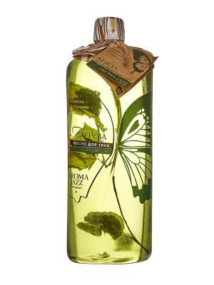 Масло жидкое для тела Береза, 1000 мл АРОМАДЖАЗ. Цвет: зеленый