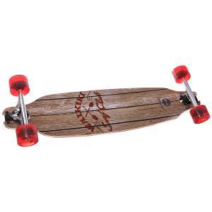 Скейт круизер  Wing D.t. 84 Diamond Complete Surf Club Brown 8.25 x 33.25 (84 см) Pumpkin. Цвет: коричневый
