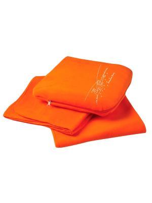 Плед-подушка Маленький Принц. Цвет: оранжевый