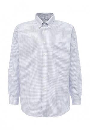Рубашка Brooks Brothers. Цвет: синий
