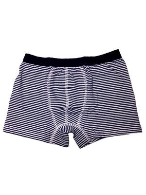 Трусы боксеры для мальчиков Oztas kids' underwear. Цвет: темно-синий, белый