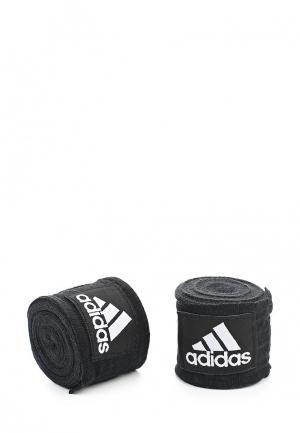 Бинт боксерский adidas Combat. Цвет: черный