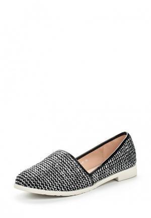 Лоферы Style Shoes. Цвет: серебряный