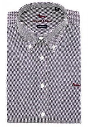 Рубашка HARMONT&BLAINE. Цвет: красный