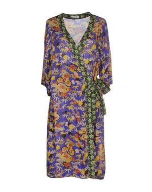 Платье до колена JUST IN CASE. Цвет: фиолетовый