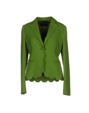 Пиджак BLUE LES COPAINS. Цвет: зеленый