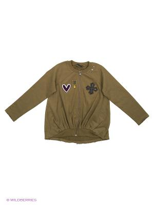 Пиджак Sisley Young. Цвет: оливковый, хаки
