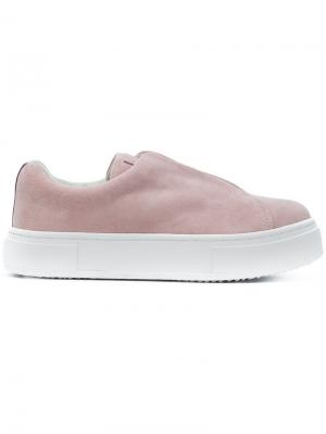Кеды Doja So Eytys. Цвет: розовый и фиолетовый