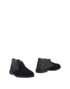 Полусапоги и высокие ботинки SGN GIANCARLO PAOLI. Цвет: черный
