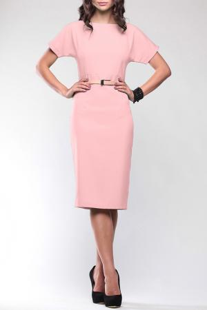 Платье Dioni. Цвет: персиковый