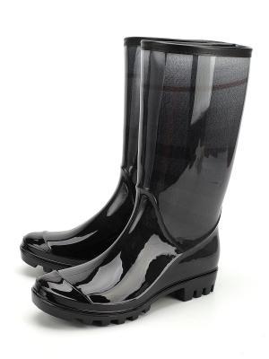 Резиновые сапоги Tofa. Цвет: черный