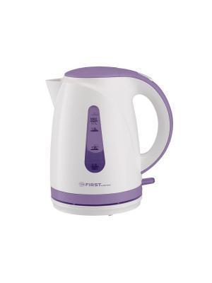 Чайник FIRST 5427-0 Емкость: 1.7 л.Мощность: 2200 Вт.White. Цвет: белый