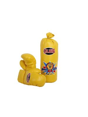 Набор боксерский детский JE-3061 Jabb. Цвет: желтый