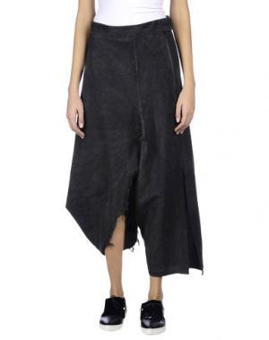 Длинная юбка UN-NAMABLE. Цвет: серый