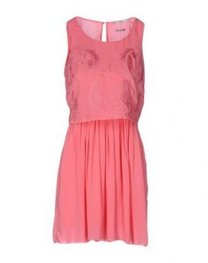 Короткое платье FAIRLY. Цвет: розовый