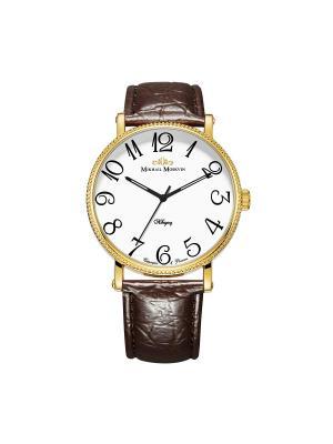Часы Mikhail Moskvin. Цвет: золотистый, коричневый