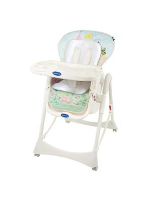 Стульчик для кормления Sweet Baby Happy Land Oval. Цвет: салатовый, голубой