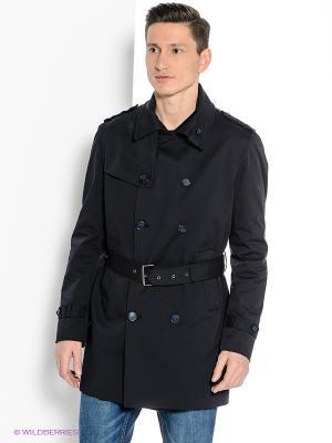 Пальто Havana & Co. Цвет: темно-синий