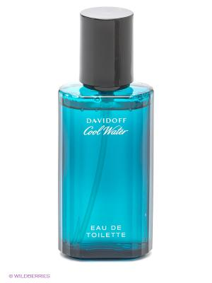 Туалетная вода Davidoff Cool Water. Цвет: синий