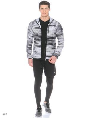 Ветровка LastLap Graphic Jacket Puma. Цвет: черный, белый