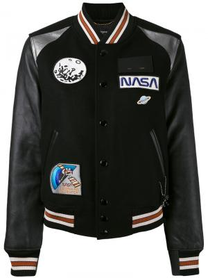 Куртка-бомбер Space Coach. Цвет: чёрный