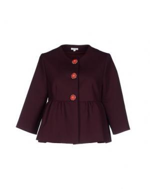 Пиджак MANOUSH. Цвет: баклажанный