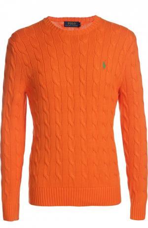 Пуловер Polo Ralph Lauren. Цвет: оранжевый