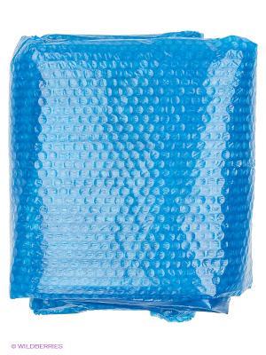 Чехол солнечный дл бассейнов из серии изи сет и каркасов с сумкой 244 см Intex. Цвет: синий